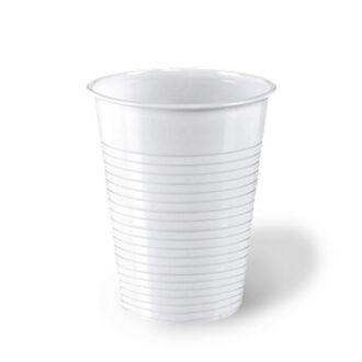 Bicchieri economici 200 cc bianchi PS (conf. 100 pz)