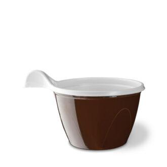 Tazzine caffè bicolore con manico